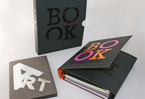 """Le """"Book des effets spéciaux"""" ou l'art d'embellir."""